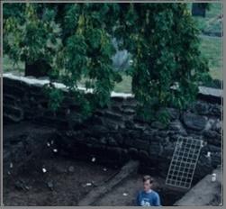 Repton Cemetery Wall