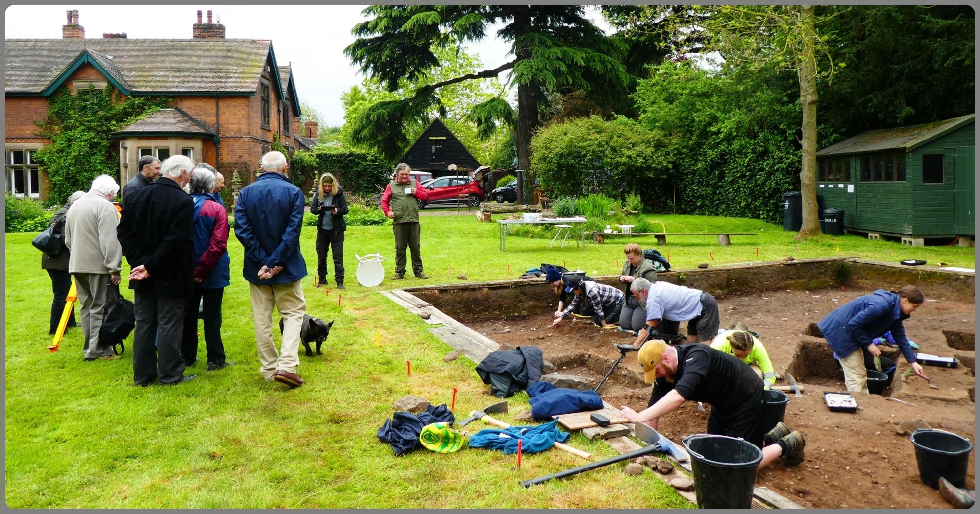 ARG at Repton Excavation